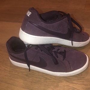 Nike Casual sneakers purple suede feeling